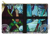Stained Galss Window In St Vitus Carry-all Pouch