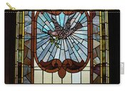 Stained Glass 3 Panel Vertical Composite 03 Carry-all Pouch