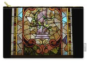 Stained Glass 3 Panel Vertical Composite 06 Carry-all Pouch