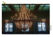 Stained Glass And Chandelier  Carry-all Pouch