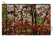Stained Glass Autumn Colors In The Forest  Carry-all Pouch