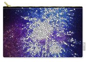 Stained Glass Beautiful Fireworks 1 Carry-all Pouch