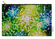 Stained Glass Beautiful Fireworks Carry-all Pouch