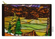 Stained-glass-beauty Carry-all Pouch