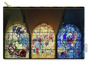 Stained Glass Chagall Windows Carry-all Pouch