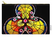 Stained Glass  Carry-all Pouch by Chris Berry
