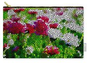 Stained Glass Chrysanthemum Flowers Carry-all Pouch