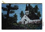 Stained Glass Church Scene Carry-all Pouch