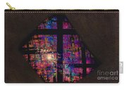 Stained Glass Cross Carry-all Pouch