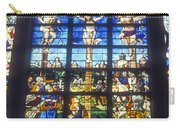Stained Glass Crucifixion Carry-all Pouch