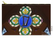 Stained Glass Harp Carry-all Pouch