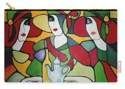 Stained Glass II Carry-all Pouch