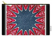Stained Glass Lace - Kaleidoscope Carry-all Pouch