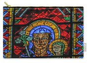 Stained Glass Of Chartres Carry-all Pouch