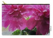 Stained Glass Peonies Carry-all Pouch