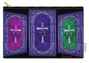 Stained Glass - Purple Carry-all Pouch