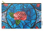 Stained Glass Roses Carry-all Pouch
