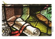 Stained Glass Scroll Carry-all Pouch