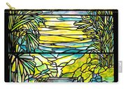 Stained Glass Tiffany Holy City Memorial Window Carry-all Pouch