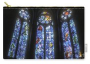 Stained Glass Triplets Carry-all Pouch