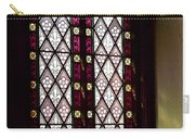 Stained Glass Window In Saint Paul's Episcopal Church-1882 In Tombstone-az Carry-all Pouch