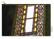 Stained Glass Window In Saint Sophia's In Istanbul-turkey  Carry-all Pouch