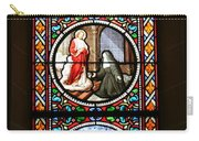 Stained Glass Window Iv Carry-all Pouch