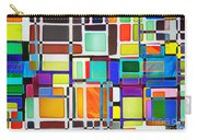 Stained Glass Window Multi-colored Abstract Carry-all Pouch