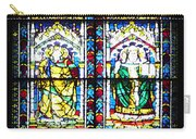 Stained Glass Window Of Santa Maria Del Fiore Church Florence Italy Carry-all Pouch