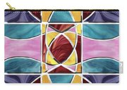 Stained Glass Window Carry-all Pouch