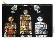 Stained Glass Window V Carry-all Pouch
