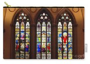 Stained Glass Windows At Saint Josephs Cathedral Buffalo New York Carry-all Pouch