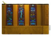 Stained Glass Windows At St Sophia Carry-all Pouch