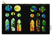 Stained Glass Windows - Sagrada Familia Barcelona Spain Carry-all Pouch