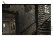 Stairs And Corridor Inside An Abandoned Asylum Carry-all Pouch by Gary Heller