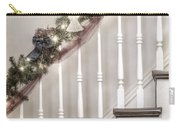 Stairs At Christmas Carry-all Pouch by Margie Hurwich