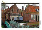 Stairway To Enkhuizen From The Dike-netherlands Carry-all Pouch