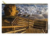 Steps To Blue Ocean And Rocky Beach Carry-all Pouch