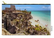 Stairway To The Tulum Beach  Carry-all Pouch