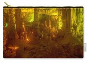 Stalactite Cave In Yellow Carry-all Pouch