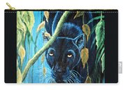 Stalking Black Panther Carry-all Pouch