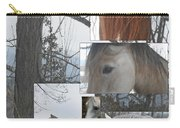 Stallions Collage There Is A Connection Carry-all Pouch