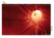 Burgundy Petal Carry-all Pouch