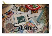 Stamp Colleting Carry-all Pouch