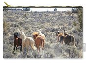 Stampede Of Wild Horses Carry-all Pouch