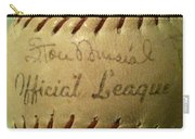 Stan Musial Autograph Baseball Carry-all Pouch