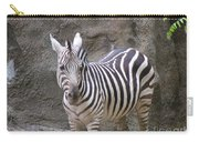 Standalone Zebra Carry-all Pouch