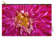 Standard Beautiful Dahlia Carry-all Pouch
