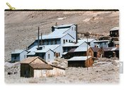 Standard Mill At Bodie Panorama Carry-all Pouch by Barbara Snyder
