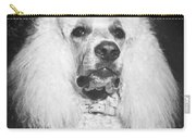 Standard Poodle Carry-all Pouch